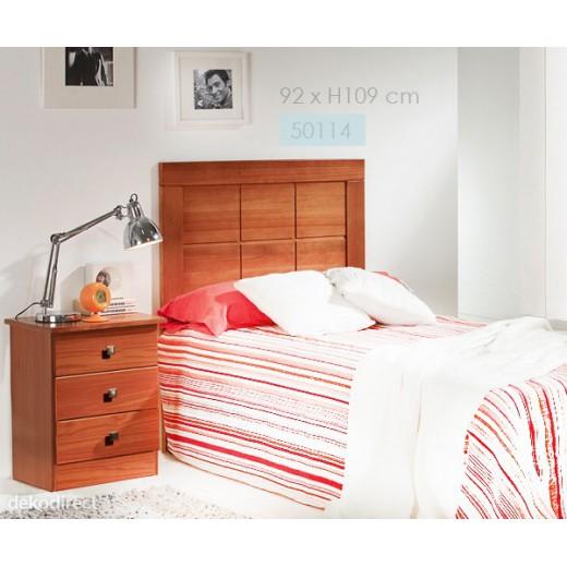 Cabecero colonial cerezo cama 90