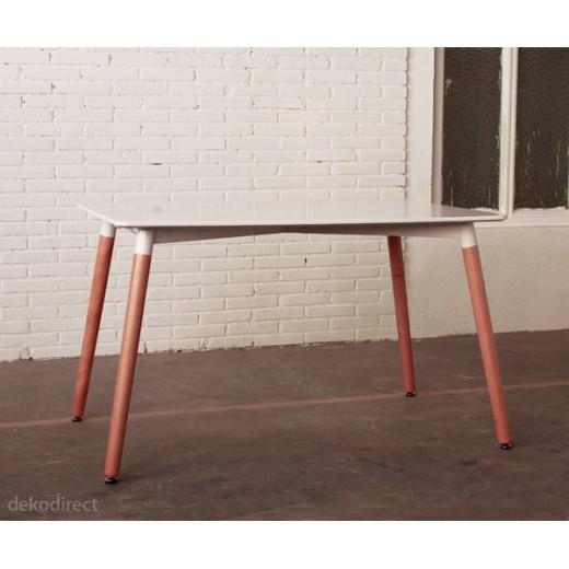Mesa comedor blanca 120 cm Nury