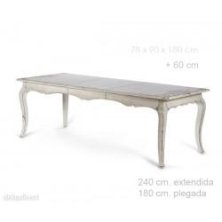 Mesa St-Tropez Blanca
