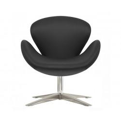 Sillón Swan de Jacobsen Negro Serie A