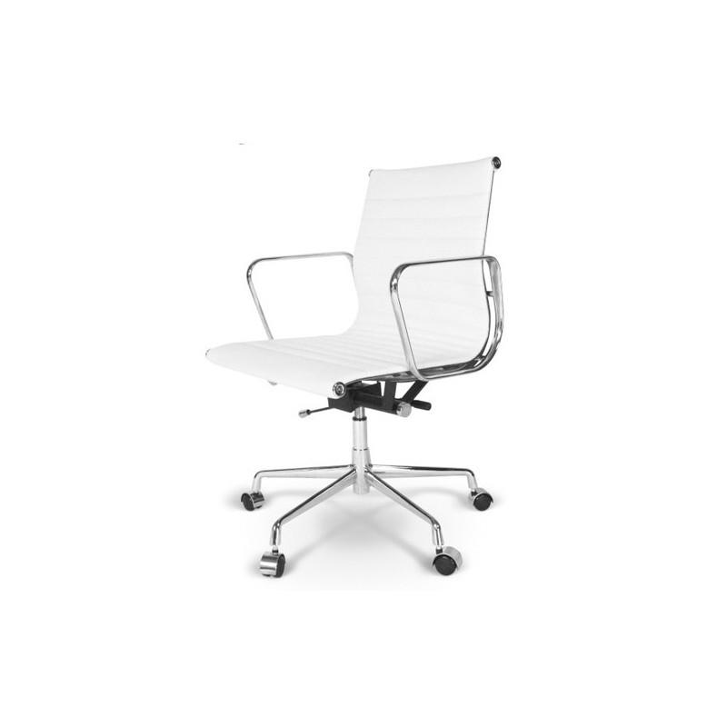 Silla sill n oficina eames direcci n color blanco for Silla oficina oferta