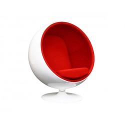 Sillón Ball rojo