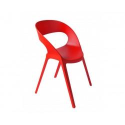 Silla Carla roja