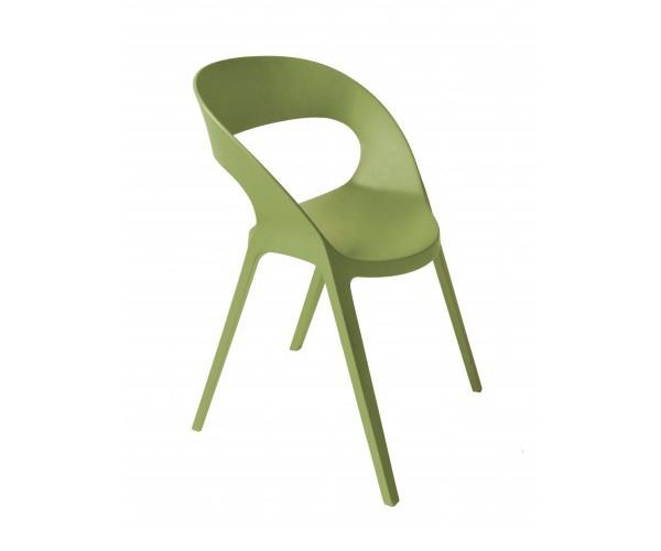 Silla Carla verde